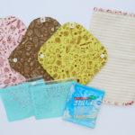 初心者さんにもおすすめ!布ナプキン全サイズ1枚ずつ入り-おためしセット