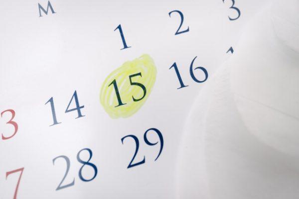 生理周期カレンダー